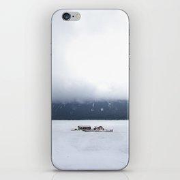 Lake Minnewanka Fog iPhone Skin