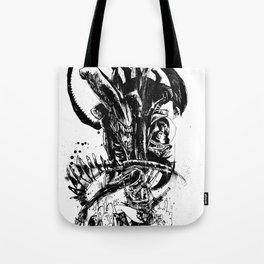Intergalactic Evil Tote Bag