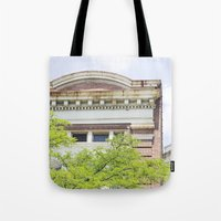 history Tote Bags featuring History by Rachael