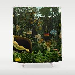 Henri Rousseau The Dream Painting Shower Curtain