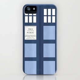 Doctor Who, Tardis iPhone Case
