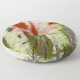 Structured Tulips Floor Pillow