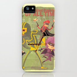 kick ass fan art 2 iPhone Case