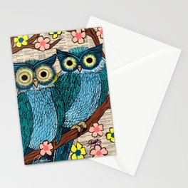 Guillermo y Guillermina Stationery Cards