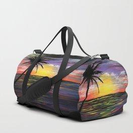 Sunset Sea Duffle Bag