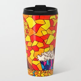 Sabretooth King Metal Travel Mug