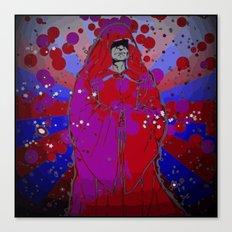 Psychedelic Emperor Canvas Print