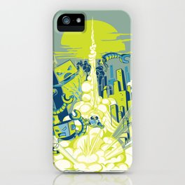 Smash! Zap!! Zooom!! - Annoying Kidd iPhone Case