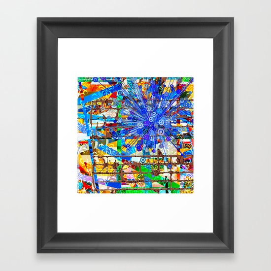 Ana (Goldberg Variations #1) Framed Art Print