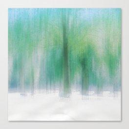 Aquamarine summer Canvas Print