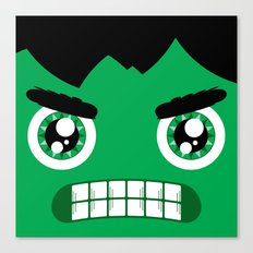 Adorable Hulk Canvas Print
