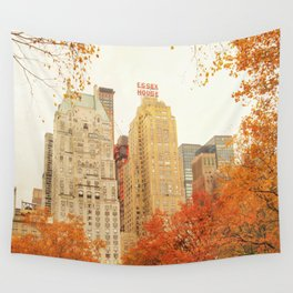 Autumn - Central Park - Fall Foliage - New York City Wall Tapestry