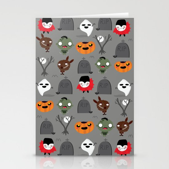 Not that spooky halloween Stationery Cards