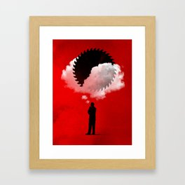Bad Idea Framed Art Print