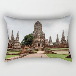 Wat Chaiwatthanaram Rectangular Pillow