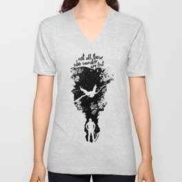 Not Lost Unisex V-Neck