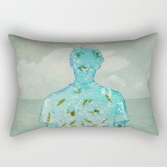 water boy Rectangular Pillow