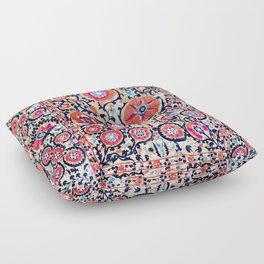 Shakhrisyabz Suzani Uzbek Embroidery Print Floor Pillow