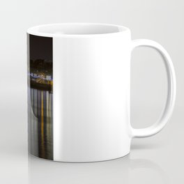 Prince of Wales Pier at Night Coffee Mug