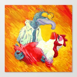 Gonzo With The Wind Canvas Print