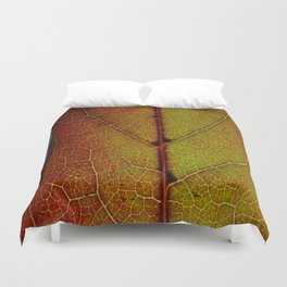 Fall Colors In Southern California Duvet Cover