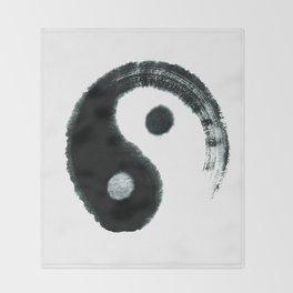 Ying & Yang Throw Blanket