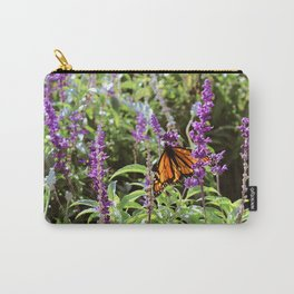 Butterfly with Open Wings Carry-All Pouch