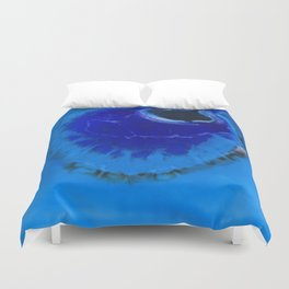 The Infinite Blue Duvet Cover