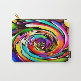 Rainbow Swirl Carry-All Pouch