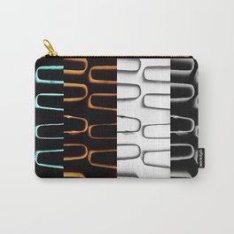 Lines | Abstract | Coloured Heating Coils | Nadia  Bonello Carry-All Pouch