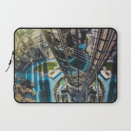 Dubai from the tallest building in the world Laptop Sleeve
