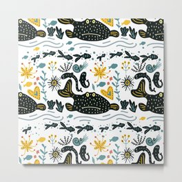 Sea Pattern #2 Metal Print