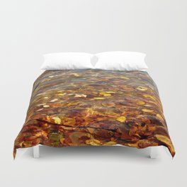 Fall in the Water 56 Duvet Cover