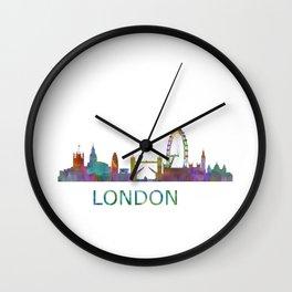 London UK Skyline HQ Wall Clock