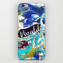 VIVALDI: Concerto for Two Violins          by Kay Lipton iPhone Skin