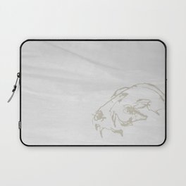 Pale Skull Laptop Sleeve