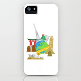 Travel iPhone Case