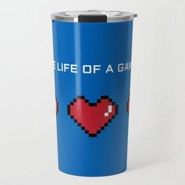 The Life of a Gamer Travel Mug