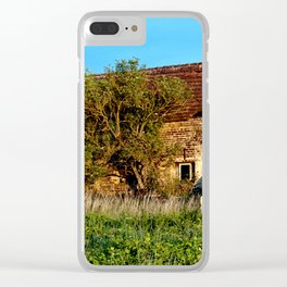 Abandoned Country Barn Clear iPhone Case