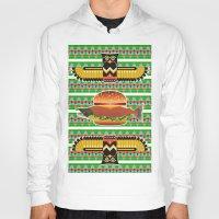 alaska Hoodies featuring Alaska Burger by milanova