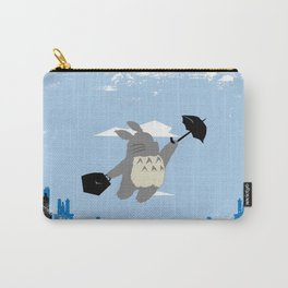 Totoro Poppins Carry-All Pouch