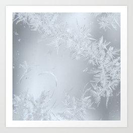 Soft Maine Frost Art Print