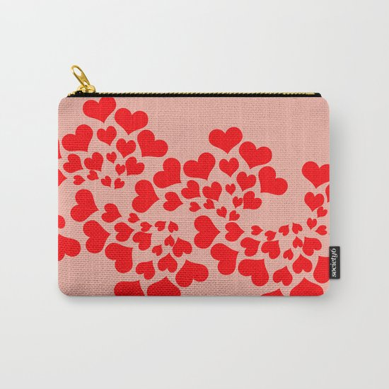 Fractal of Love (Valentine's Day) Carry-All Pouch
