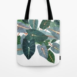 Caladiums Tote Bag