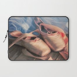 Painting ballet shoes and jersey Laptop Sleeve