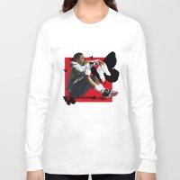 kendrick lamar Long Sleeve T-shirts featuring Kendrick Lamar by MikeHanz