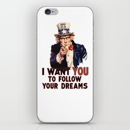 My Uncle Sam iPhone Skin