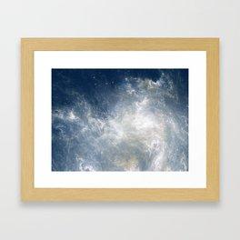 Ciel au Lait Framed Art Print