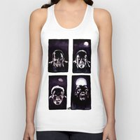 howl Tank Tops featuring Howl by Zombie Rust