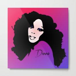 Donna Summer - Last Dance - Pop Art Metal Print